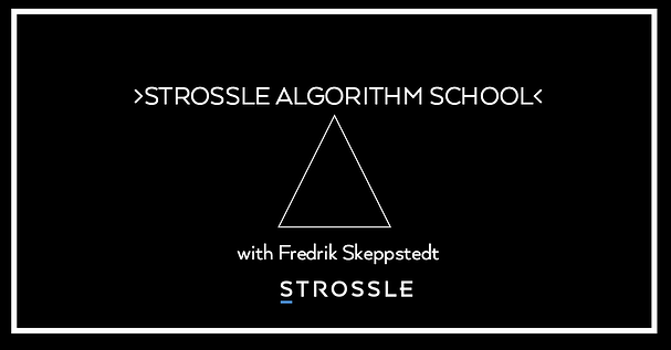 Strossle's Algorithm School - an opportunity for publishers to stay in tune with development