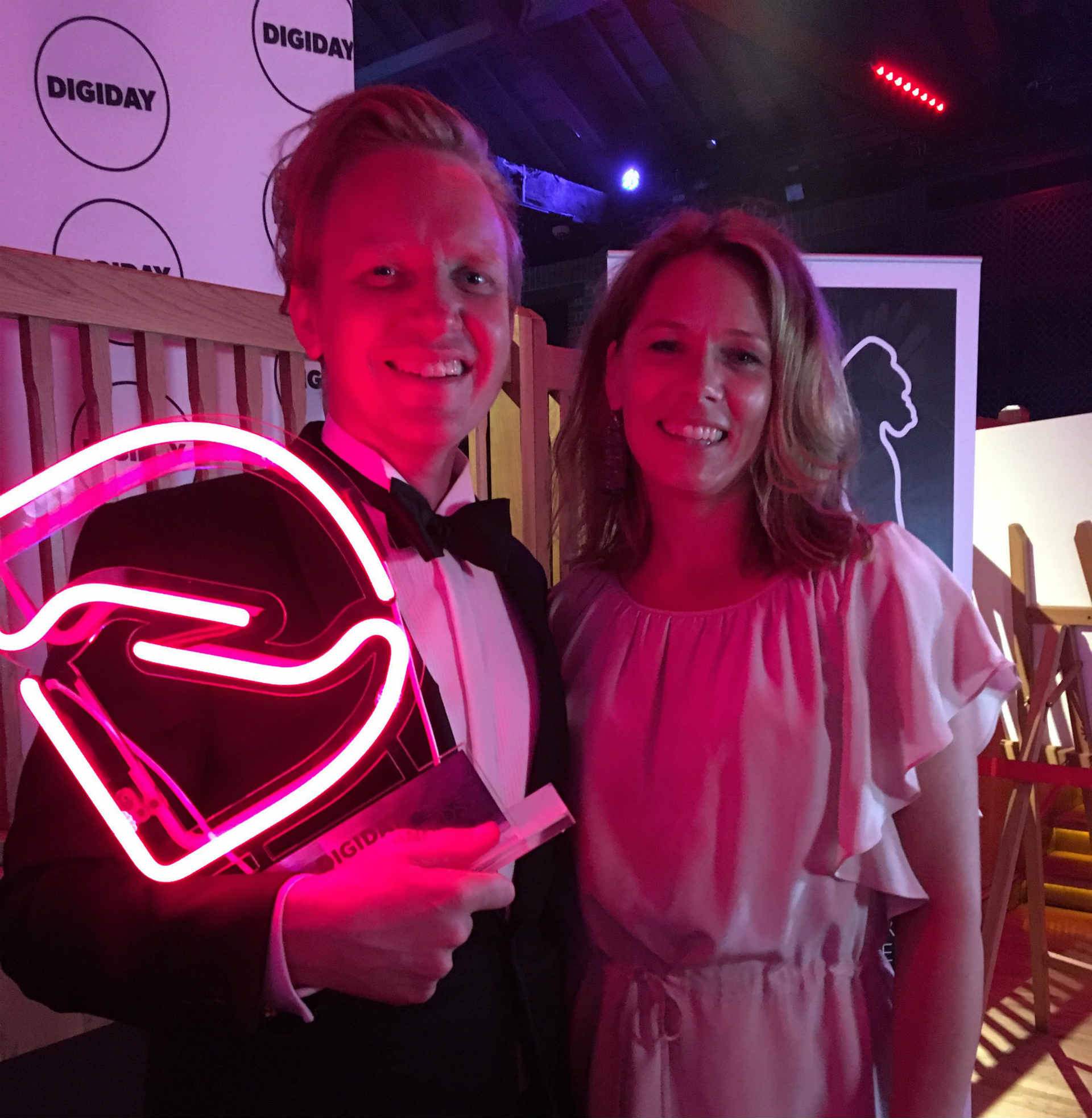 Digiday awards winner picture