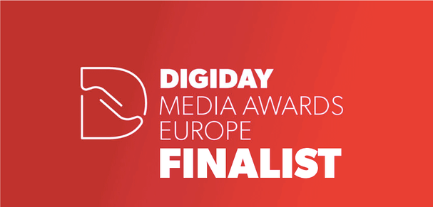 Strossle Finalist in Digiday Media Awards Europe 2018!