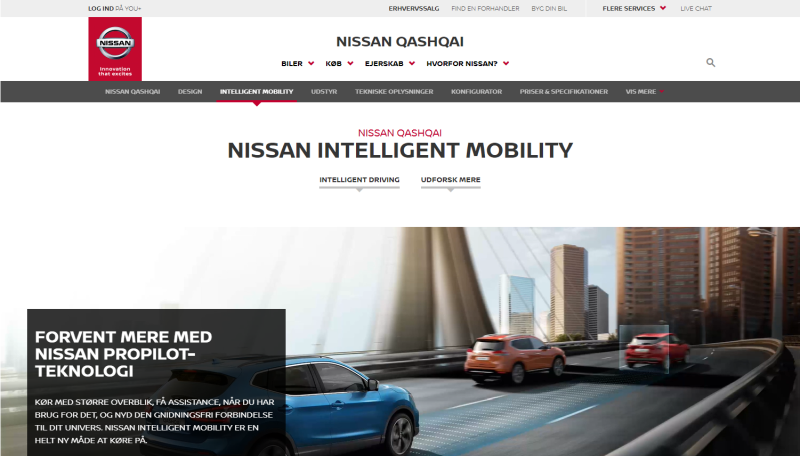 Nissan micropage